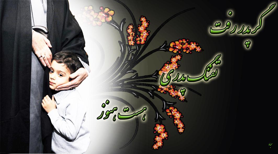 امام خامنه ای_شهید احمدی روشن_طرح امام خامنه ای و بازدید از خانواده شهید احمدی روشن